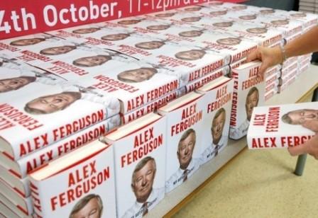 Фергюсонның кітабы сатылым жағынан рекорд орнатты