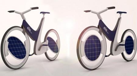 Күннен қуат алатын велосипед (видео)