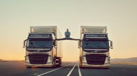 Volvo жүк көлігінің ерекше жарнамалары (видео)