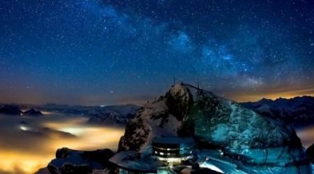 Швейцариядағы Альпі тауына саяхат (видео)
