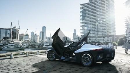 BladeGlider EV - стильді концепт-кар