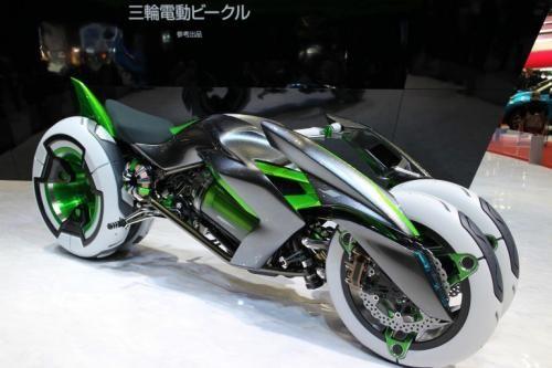 Kawasaki ұсынған фантастикалық концепт