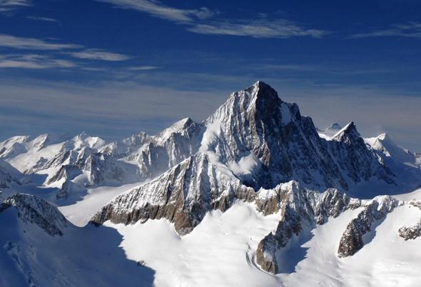 Мұз астындағы тау
