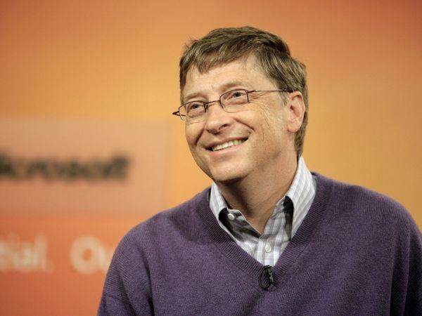 Билл Гейтс туралы қызықты деректер