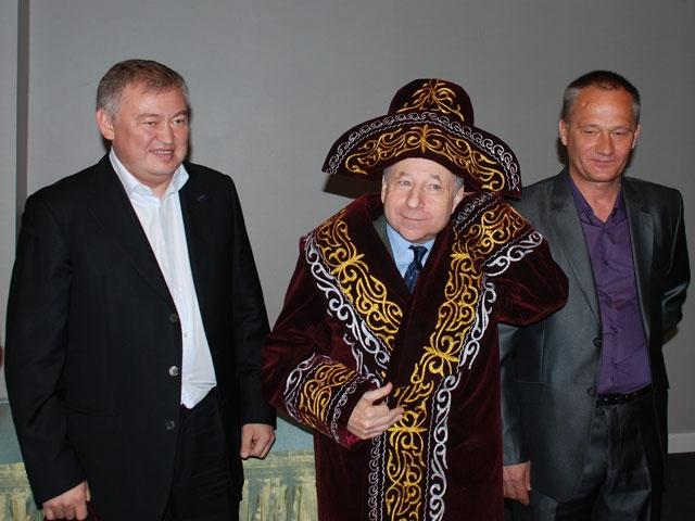 Жан Тодт Алматыға келді