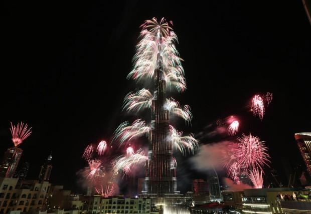 Дубайдағы жаңажылдық отшашу Гиннестің рекордтар кітабына енді