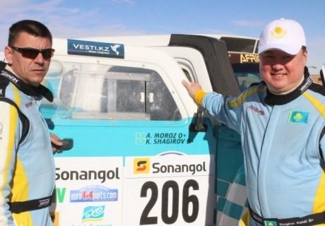 Мавритания жерінде ралли-марафонның тоғызыншы кезеңі аяқталды