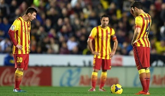 «Барселона» мен «Атлетико» ұпай жоғалтты