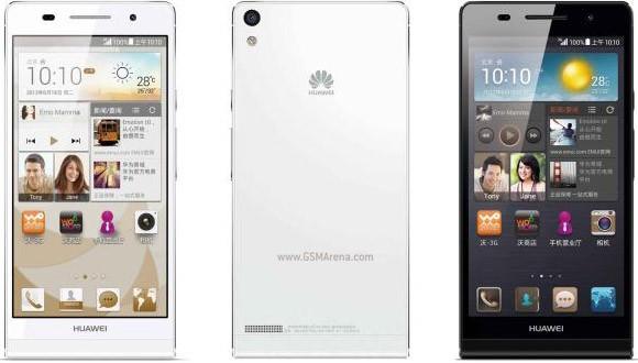 Huawei Ascend P6 S смартфоны ресми түрде таныстырылды
