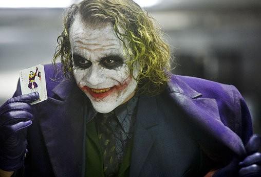 Хит Леджер немесе «Джокер»