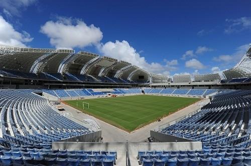 Бразилия жаңа стадионын таныстырды
