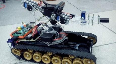 Алматылық студенттер сапер-танк құрастырып шықты