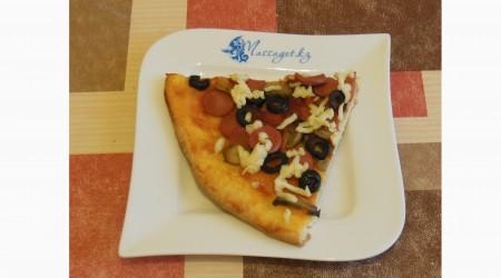 Массагеттен мәзір: Саңырауқұлақ пиццасы