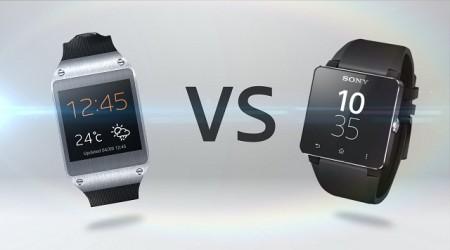 Samsung Galaxy Gear және Sony SmartWatch 2 ақылды сағаттарына қысқаша шолу