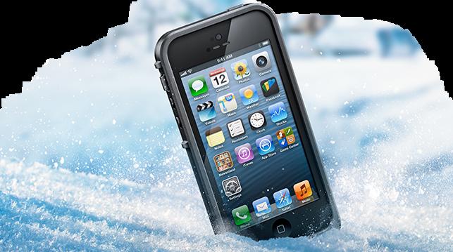 iPhone-ды суықта сақтау