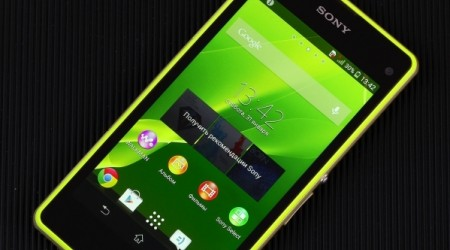 Sony Xperia Z1 Compact смартфонына шолу