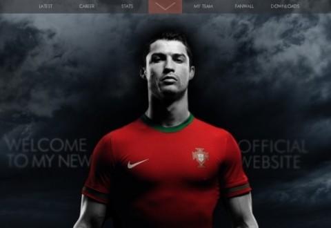 Роналдудың ресми сайты ашылды