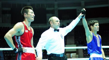 Алматыда бокстан халықаралық