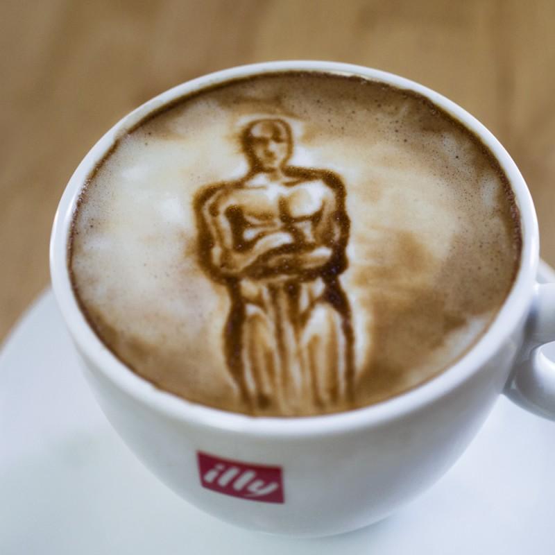 """""""Оскар""""-2014 бәйгесінің лауреаттары кофе бетінде"""