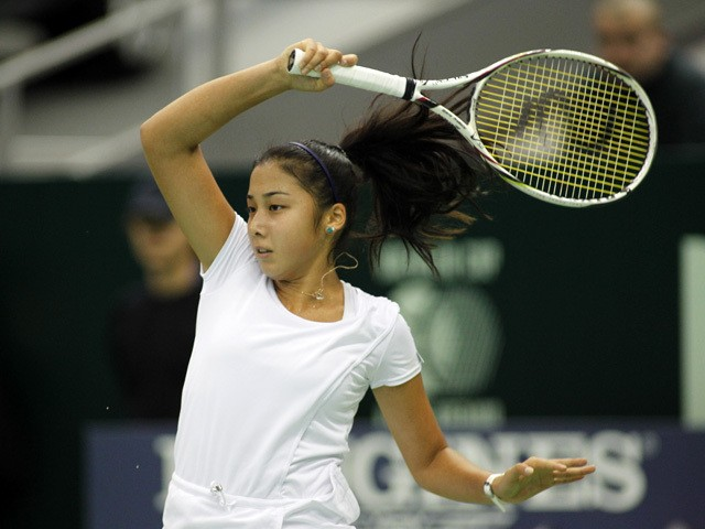 Зарина Диас Қытайда өтіп жатқан турнирдің ширек финалына шықты
