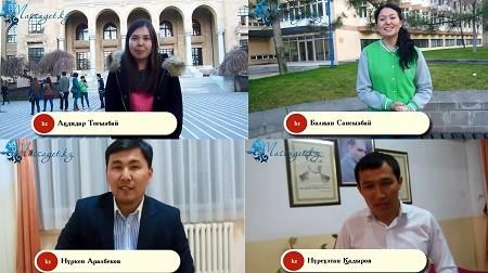 Түркиядағы қазақ жастары 8 наурыз мерекесімен құттықтайды