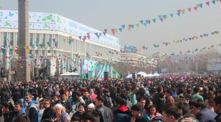 Фоторепортаж: Алматыдағы Наурыз тойы
