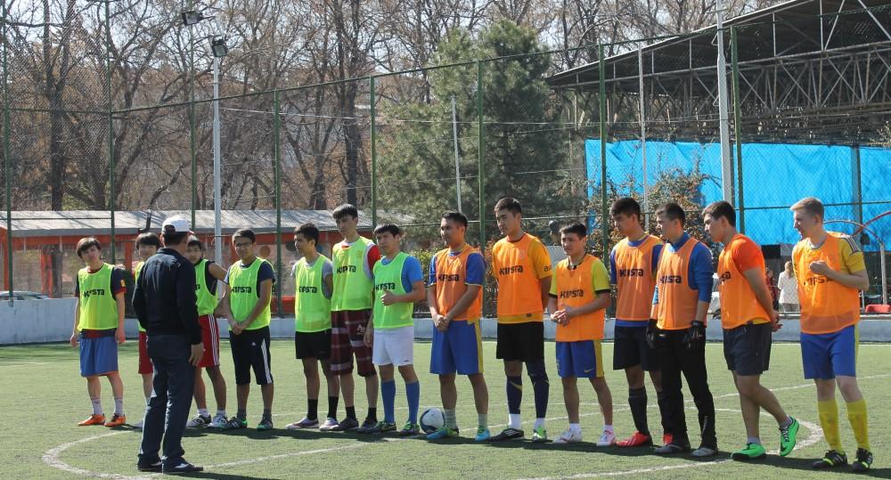 Анкарадағы қазақ жастарының футбол бәсекесі