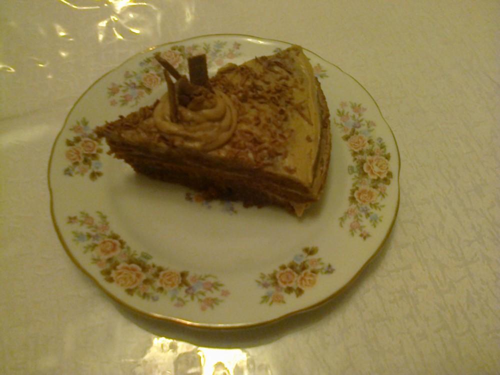 Мәзір: Шоколадтан жасалған торт
