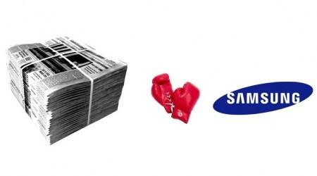 Samsung өзін сынаған газетті сотқа берді