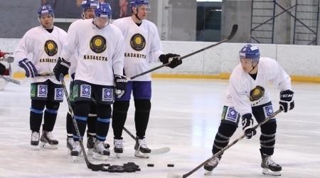 Хоккейшілеріміз әлем чемпионатына дайындығын бастады
