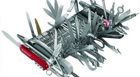 Қызықты қосымшалар: Swiss Army Knife - таптырмас мүмкіндіктері бар қосымша (Android үшін)