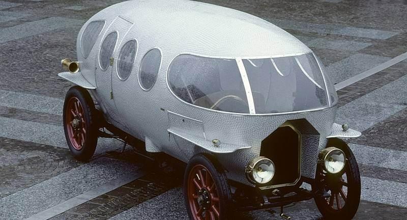 Ең алғашқы аэродинамикалық автомобиль