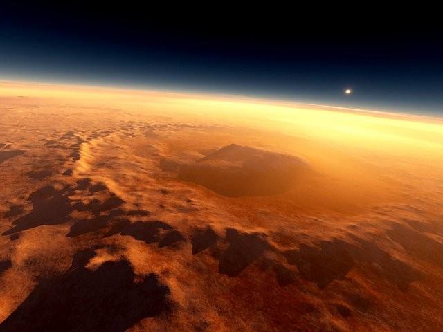 Америкалық аппарат Марсқа жақындауда