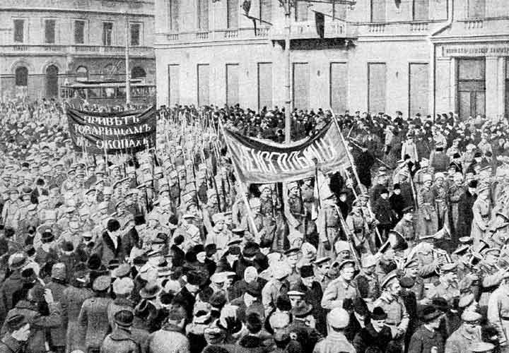 1917 жылғы Ақпан буржуазиялық-демократиялық революциясы