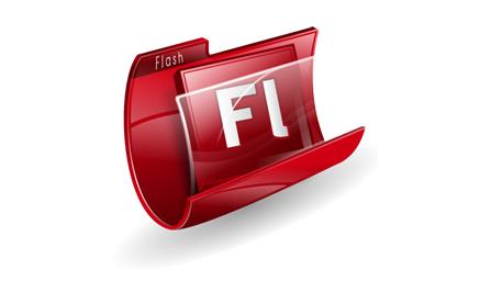 3. Adobe Flash - Дөңгелек сызу құралы және рең беру