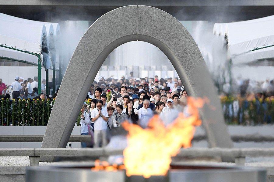 Хиросима мен Нагасаки: Қолдан жасалған апат