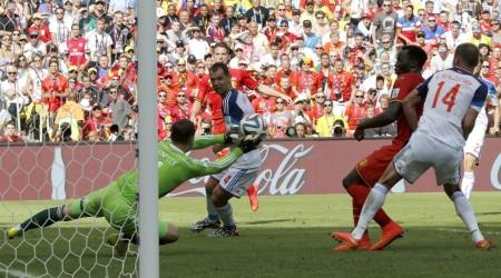 ӘЧ-2014. Бельгия - Ресей кездесуі – 1:0