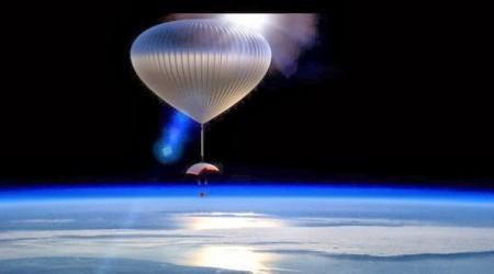 Екі жылдан кейін туристер ғарыш әлеміне әуе шарымен ұшады