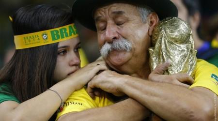 ӘЧ-2014. Бразилия фанаттары Германияға жанкүйерлік еткен