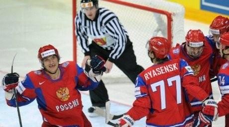 Ресей - хоккейден әлем чемпионы!