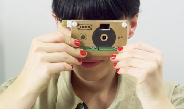 Картоннан жасалған камера