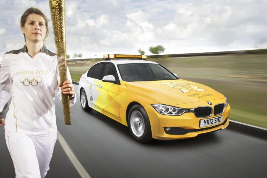 BMW. Олимпиада көліктері