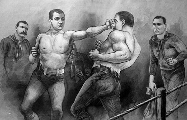 125 жыл бұрын қолғапсыз соңғы бокс жекпе-жегі өткен