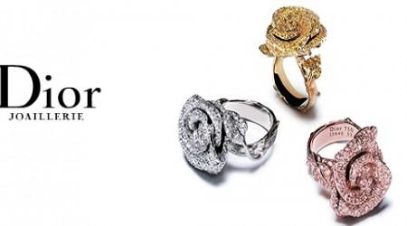 Зергерлік бұйымдар: Dior Jewellery үйінің әшекейлері