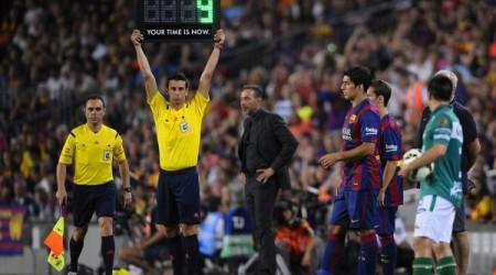 Суарес «Барселона» сапындағы алғашқы ойынына қатысты
