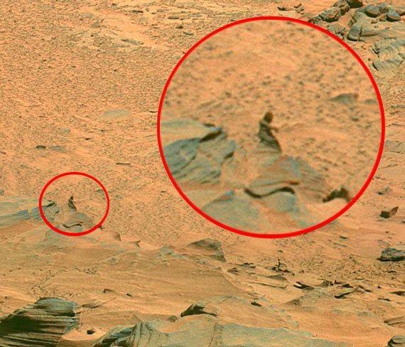Марстағы құпия көріністер