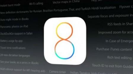 iOS 8 платформасы жалпы қолданысқа енді