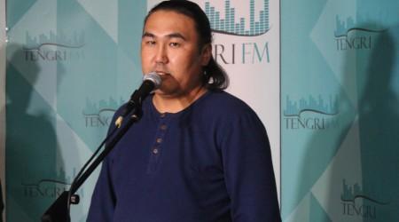 Тувалық әнші Радик Тюлюшпен пресс-конференция өтті