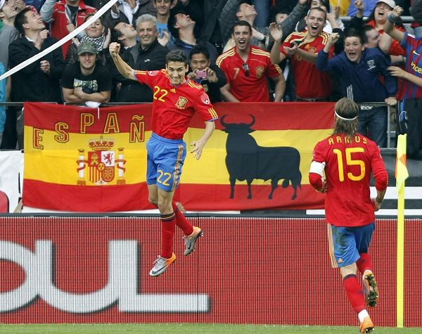 Испания Оңтүстік Кореяны айқын басымдылықпен ұтты