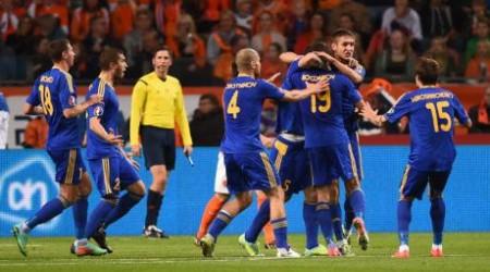 Қазақстан құрамасы Нидерланды  футболшыларына есе жіберді